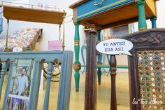 Las Tres Sillas en el 15º intercambio De Armario a Armario en Valencia Valencia, Clothing Swap, Vintage Furniture, Organize, Chairs