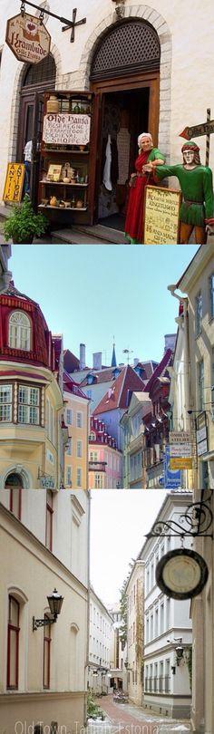 Tallinn, Estonia Krambúð eins og á íslensku!!!