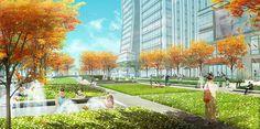 Xuhui Runway Park | Shanghai, China | Sasaki Associates #china #park #concept #plan #landscape #urban #design