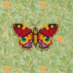 Beaded Flowers Patterns, Beaded Earrings Patterns, Bead Loom Patterns, Peyote Patterns, Weaving Patterns, Color Patterns, Painting Patterns, Bracelet Patterns, Crochet Patterns