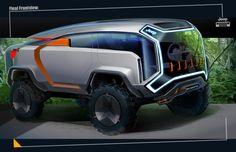 Jeep Concept, Concept Cars, Rv Vehicle, 4x4, Truck Design, City Car, Futuristic Cars, Automotive Design, Art Cars