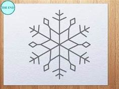 Snow Flake Drawings - - Yahoo Image Search Results