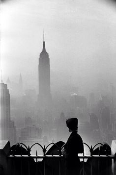 The lady and the city | by Elliott Erwitt NYC c1955