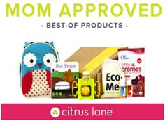 Win a 6 month subscription of Citrus Lane! Kids activities that arrive monthly to your door! Ends 6/24/14