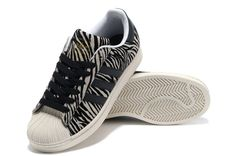 addidas shoes for men shell top   ... » Adidas Originals Superstar Zebra-stripe Shell Toes Casual Shoes