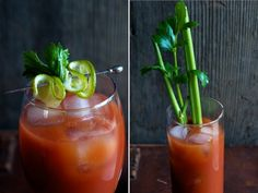 Sriracha Bloody Mary New Year's Day Brunch Recipes