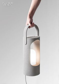 19 Top New Outdoor Products | Ramón Úbeda and Otto Canalda's Rolling lamp in…