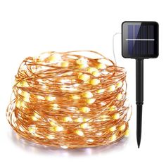 Product Name LED Outdoor Solar Lamp LEDs String Lights Fairy Holiday Christmas Party Garland Solar Garden Waterproof Lights. Solar Led String Lights, Led Fairy Lights, String Lights Outdoor, Outdoor Solar Lamps, Outdoor Lighting, Luz Solar, Copper Lighting, Party Garland, Aliexpress
