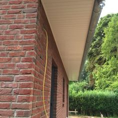 Der Dachüberstand Aus Kunststoff Hat Große Vorteile. Einer Der Vorteile  Ist, Dass Dieser Nie