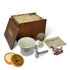 Check out the Safety Razor Boxed Set on the Art of Manliness Store!
