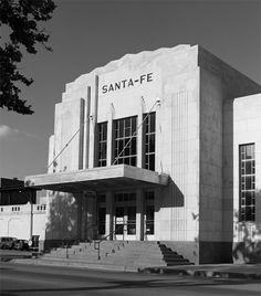 Santa Fe Depot, Oklahoma City : Oklahoma City, Oklahoma : J. Architecture Details, Landscape Architecture, Art Deco Buildings, Z Arts, Art Deco Design, Santa Fe, Art Deco Fashion, Art Nouveau, Serpent