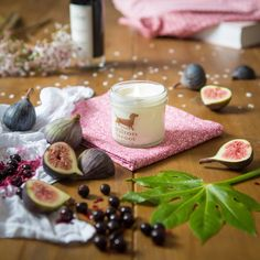 Introducing our new scent Fig & Cassis, essential oil blend, soy wax, suitable for vegans, cruelty free. Vegan Candles, Soy Wax Candles, Scented Candles, Glass Jars, Candle Jars, Essential Oil Blends, Essential Oils, Luxury Candles, Fig