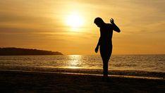 Summer of nudist beach Chile Portrait Silhouette, Silhouette Pictures, Sunset Silhouette, Digital Photography, Photography Tips, Portrait Photography, Open Window, Activities, Beach