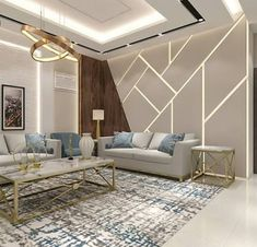 Interior Living Room Design Trends for 2019 - Interior Design House Ceiling Design, Ceiling Design Living Room, Interior Design Living Room, Living Room Designs, Interior Ceiling Design, Bedroom Bed Design, Home Room Design, Modern Bedroom, Drawing Room Interior