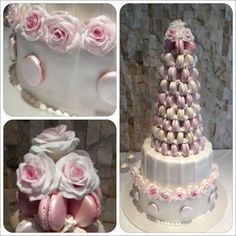 Macaroon cake made by Joanne Knight