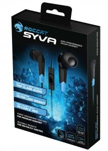K1ng0fNo0b: Roccat – Syva: des écouteurs intra-auriculaires de...