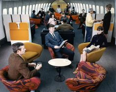 Flying in the '70s Was More Awesome Than What It Is Now.