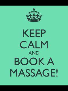 Book a massage!