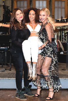 Beyoncé, Solange & Tina