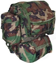 Favorite Camping Gear  | GI Woodland Camo Standard Backpack MOLLE II w Sustainment PouchesGI Woodland Camo Standard Backpack MOLLE II w Sustainment Pouches *** See this great product. Note:It is Affiliate Link to Amazon.