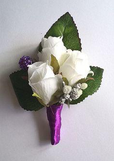 Wedding boutonniere by Weddingcraftlife on Etsy Wedding Boutonniere, Boutonnieres, Crown, Etsy, Jewelry, Corona, Jewlery, Bijoux, Jewerly