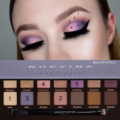 abh norvina abhcosmetics makeup makeupbrushes modernrenaissance abhxnorvi is part of eye-makeup - [ad abh norvina abhcosmetics makeup makeupbrushes modernrenaissance abhxnorvina [ad Sou Eye Makeup Glitter, Eyeshadow Makeup, Eyeliner, Eyelashes Makeup, Natural Eyeshadow, Makeup Tricks, Makeup Tools, Makeup Brushes, Beauty Brushes