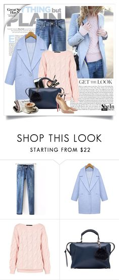 """""""Get the look - winter pastels"""" by yexyka ❤ liked on Polyvore featuring AV by Adriana Voloshchuk, Kate Spade Saturday, Sheinside and shein"""