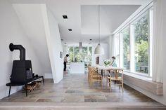 Modernes Satteldachhaus mit Backsteinfassade | Schöner Wohnen