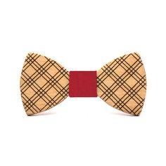 Pajarita de cuadros escoceses Casual hecha en madera de haya.  INFORMACIÓN ADICIONAL Pajarita hecha en madera de haya  110mm x 55mm.  Nudo intercambiable Fashion, Tricot, Bow Ties, Suspenders, Original Gifts, Knots, Blue Nails, Ideas, Moda