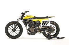 "Anyone who knows anything about flat track racing will be able to tell you stories about ""King"" Kenny Roberts and his dominant performances aboard his Yamaha XS650, with its distinctive Yamaha Yellow paint with black speed blocks running down either side of the tank and tail. In the years since Roberts left the dirt oval..."