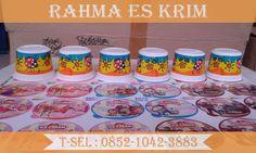 Cup dan tutup Es Krim Plastik Ukuran 100ml
