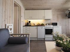 Hytter Cabins, Kitchen Cabinets, Beach, Home Decor, Decoration Home, The Beach, Room Decor, Cabin, Kitchen Base Cabinets