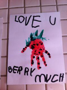 Kylie's berry cute Valentine