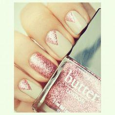 "@fashglambeaugorge's photo: ""#butter #london #nails #nail #pretty #cute #pink #adorable #summer #hand #beauty #beautiful #fashion #sparkles #glitter #glossy #shing #glamorous #follow #followme #followforfollow #teamfollowback #ifollowback #like"""