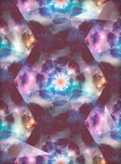 Kaleidoscope by Alexiacas , via Behance