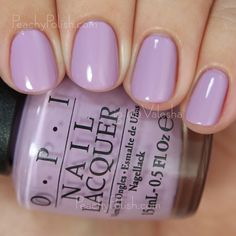 OPI Purple Palazzo Pants | Fall 2015 Venice Collection | Peachy Polish