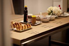 Bar a gaufres, une animation culinaire originale pour un mariage ou evenement professionnel!