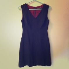 Tahari Little Black Dress This is a classic and conservative little black dress in lightly worn condition. Tahari Dresses
