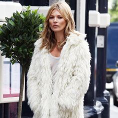 Kate Moss has captivated the world with her age-defying beauty and bohemian-rocker lifestyle since the early '90s, and needless to say, our infatuation for the English model is still going strong. When she's not posing in front of the camera, Kate keeps up her style-icon status in an array of furry coats, leather, flowy tops, and boots from a mix of high and low brands like Isabel Marant, Topshop, Stella McCartney, and Marc Jacobs. Get her look with our inspired picks.
