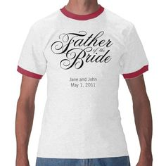 Father of the Bride Shirt Light