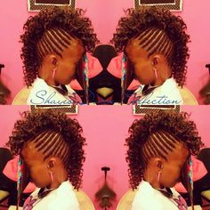 Braided* Mohawk #protectivestyle  #braids #sewin #mohawk  #DFWStylist #yesornah  #bookme