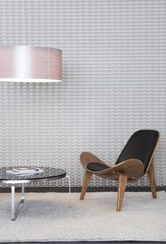 Studio by Parametre is an easy-to-install partition screen or wall feature to add a little pop to your wall space in need of a spruce! Sustainable Building Materials, Partition Screen, Wall Spaces, Textured Walls, Industrial Design, Architecture Design, Dining Chairs, Pop, Studio