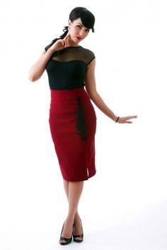 Pencil skirt by Steady Clothing.#Repin By:Pinterest++ for iPad#