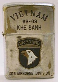 Vintage Zippo lighter gallery. http://www.pinterest.com/jr88rules/vietnam-war-memories/  #VietnamMemories~KA