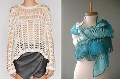 Mais parece uma renda do que crochê! O crochê de grampo é bem fácil de fazer, rápido e de baixo custo. Dê uma olhada nestes modelos, bem delicados e super fashion.