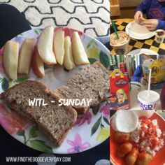 Week in the Life - Sunday (food)
