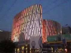 ▶ Mondeal Square - LED media facade Lighting - YouTube