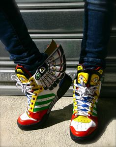 in stock fe79b 933ef Jeremy Scott Wing  adidas Adidas Wing Shoes, Crazy Shoes, Me Too Shoes,