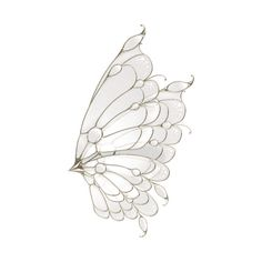 tubes ailes ❤ liked on Polyvore featuring wings, butterflies, fillers, backgrounds, animals, effects, details and embellishments