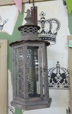 hanging /standing moroccan lantern